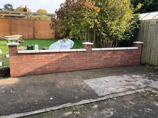 Garden Wall No Job Too Small Waddington Build Civils